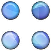 Abstract Web Button Set — Stock Photo