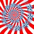 red white and blue — Stock Photo