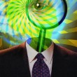 Stock Photo: Magnify Mind
