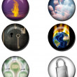 Concepts Web Buttons — Stock Photo