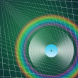 Stock Photo: Rainbow LP