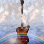 Bass Guitar — Stock Photo