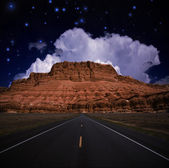 Southwestern USA Road — Stock Photo