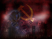 USSR Abstract — Stock Photo