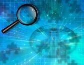 Health Puzzle Investigate — Stock Photo