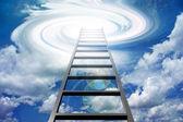 Escada para o céu — Fotografia Stock