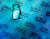 Computer Security — Stock Photo