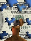 Open Mind Creative Wealth — Stock Photo