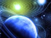 Binära astronomi — Stockfoto