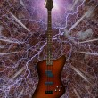 Electric Bass Guitar — Stockfoto