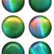 Abstract Web Button Set — Stock Photo