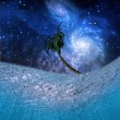 Underwater Night Scene — Foto de Stock