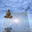 Meditate — Stock Photo