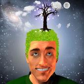 Idee-Obst-Wachstum — Stockfoto