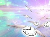 Time Flight — Stock Photo