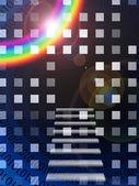 Binary Abstract — Stock Photo