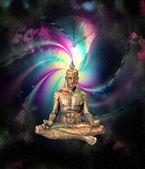 Sci Fi Meditation — Stock Photo