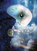 Surreal Eye — Stock Photo