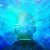 Mind of Light — Stock Photo