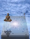 Meditate — Stock Photo