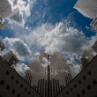 City Sky Scape — Stock Photo