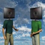 TV Head — Stock Photo #29519101