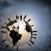 Earth time — Stock Photo