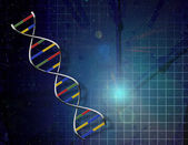 Time DNA — Stock Photo
