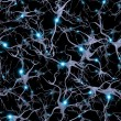 Seamlessly Repeatable Brain Cells Pattern — Stock Photo