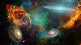 Derin uzay — Stok fotoğraf