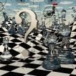 Fantasy Chess — Stock Photo #30243339