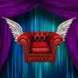 Winged comfort chair — Stock Photo #31069147