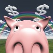 Happy Pig — Stock Photo