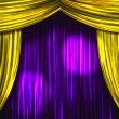 Theater Curtains — Stock Photo #32114867