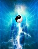Yin Yang Human — Stock Photo
