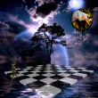 Surreal Composition — Stockfoto