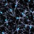Stock Photo: Brain Cells Pattern