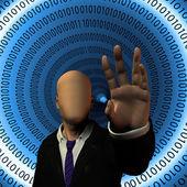 Secure Internet — Stock Photo