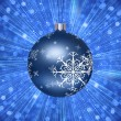 Christmas Tree Ball Illustration — Foto de Stock