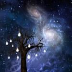 Celestial Tree — Stock Photo