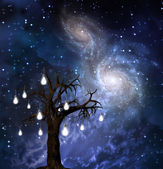 Celestial Tree — Stock Photo