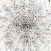Abstract like atomic particles — Stock Photo