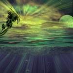 Under water tropics illustration i — Stock Photo #37264611