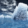 Ice Bergs — Stock Photo #39672565