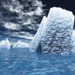 Ice Bergs — Stock Photo