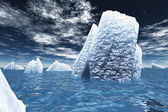 Ice Bergs — Stock Photo