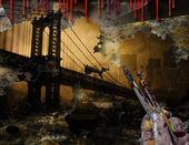 Brooklyn Bridge NYC Painting — Stock Photo