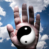 Yin Yang — Stock Photo
