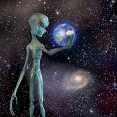 Alien — Stock Photo