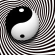 Stock Photo: Yin yang